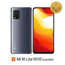 국내정식발매 샤오미 Mi 10 Lite 5G/LTE 듀얼유심 무약정 스마트폰 국내AS 가능